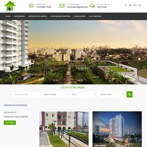 Criação do site para imobiliária Ícone Realty