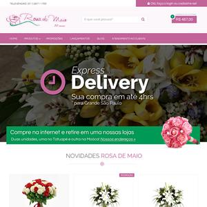 Loja Virtual Rosa de Maio